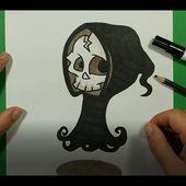 Como dibujar a la muerte paso a paso 5 | How to draw to death 5