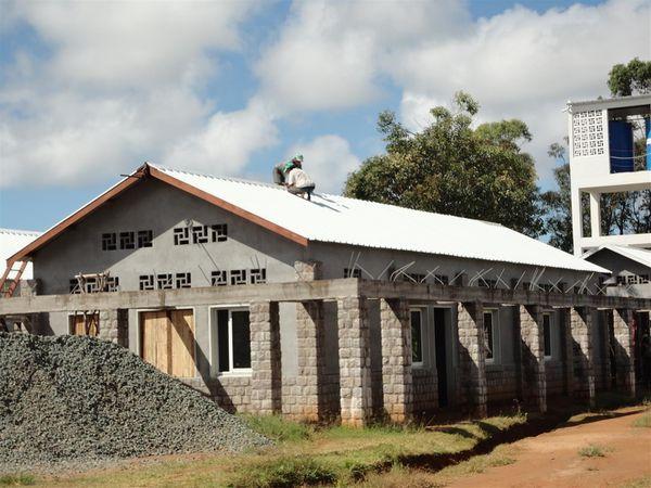 La menuiserie aluminium des 4 premiers pavillons (3e partie)