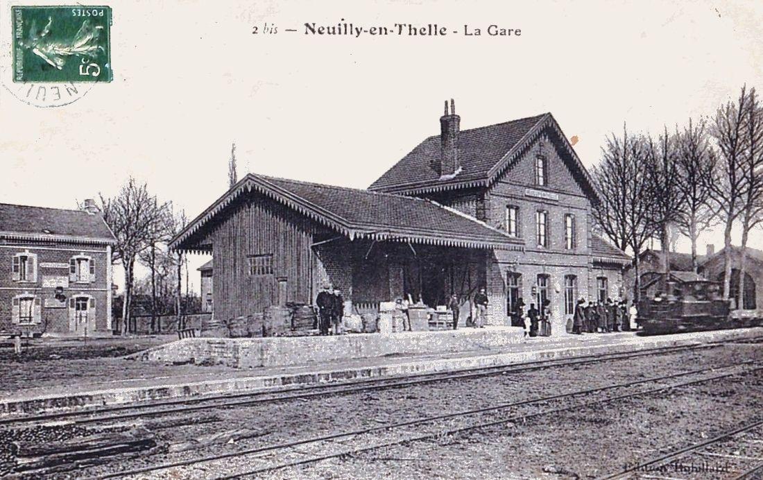Ancienne Gare de Neuilly en Thelle (Oise)-4