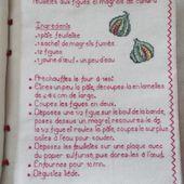 Livre Recettes Brodées de Mamigoz : Feuilletés aux figues et magrets de canard - Chez Mamigoz