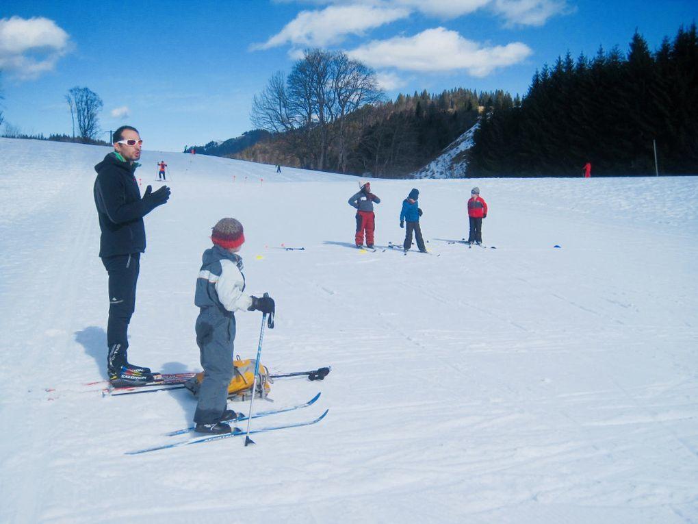 3e sortie ski de fond pour les CP CE1 Sésames