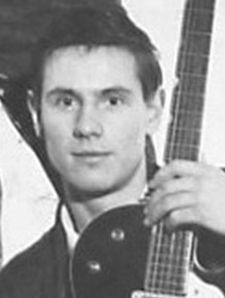 Hilton valentine, le guitariste anglais et co-fondateur du groupe the Animals avec Alan Price et Éric burdon