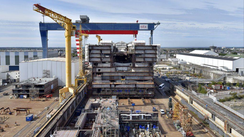 Le rachat des Chantiers de l'Atlantique par Fincantieri n'aura pas lieu