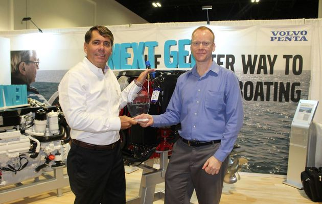 An Ibex Innovation Award for the Volvo Penta Easy Drain system