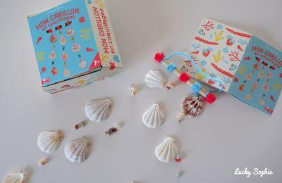 DIY adorable carillon coquillages pour prolonger l'été !