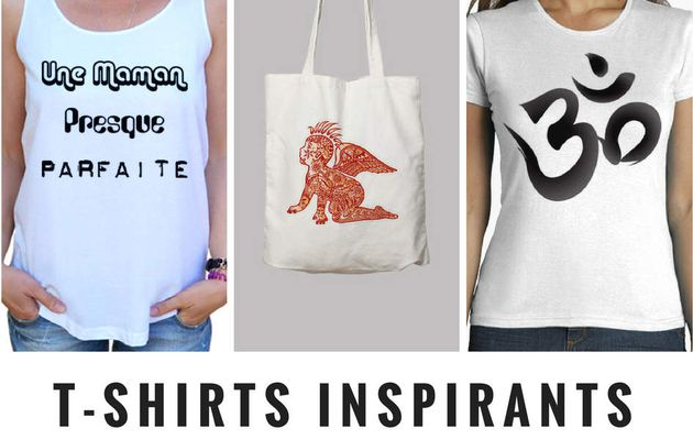 T-Shirts fun et inspirants