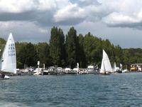 16 voiliers sur notre plan d'eau