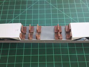 7ème étape de la fabrication de l'OC2