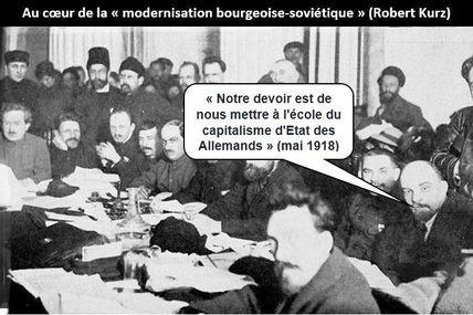 """""""NOUS METTRE À L'ÉCOLE DU CAPITALISME D'ÉTAT DES ALLEMANDS""""  Lénine"""