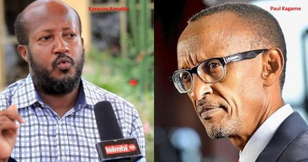 Will Paul Kagame's regime pin an assassination of Aimable Karasira On COVID-19?