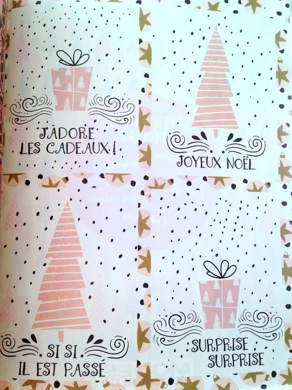 #modesettravaux #noel #2018 #papiers #diy #cadeaux #charlotteblabla blog