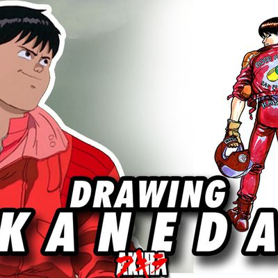 KANEDA from AKIRA ! Speed Drawing ✏️ Comic Book Style ✏️🏍