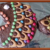 Gâteau au chocolat en forme de poisson - Oh, la gourmande..