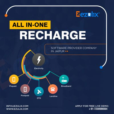 All in One Recharge - Modernized Software for Business
