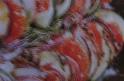 Tian de légumes au romarin