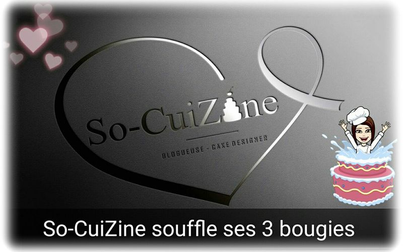 So-CuiZine souffle ses 3 bougies