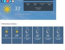 El Tiempo Hoy(actualización 22:00)