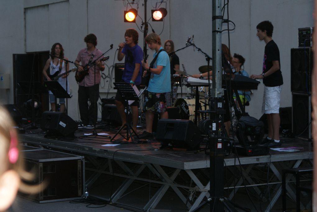 Quelques image de la Fête de la Musique à Saint-Jean-de-Maurienne.  Photos : J.Tracq