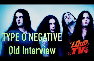 OLD TYPE O NEGATIVE VIDEO INTERVIEW for WORLD COMING DOWN (1999)