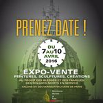 Expo-vente - peintures, sculptures, créations - 7-10 avril 2016 - Invalides