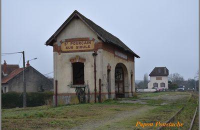 La dernière ligne PLM:  La Ferté-Hauterive à Gannat