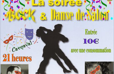 Soirée Rock et Danse de Salon - Amboise (37) - Samedi 17 Mars 2012