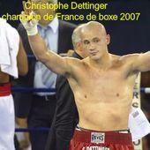 Le boxeur Christophe Dettinger explique son geste dans une vidéo