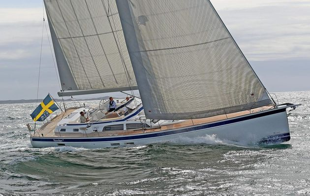 World Premiere for Hallberg-Rassy 57 at Open Yard