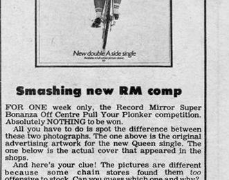 COUPURE PRESSE : Record Mirror - Smashing new RM comp (1978)