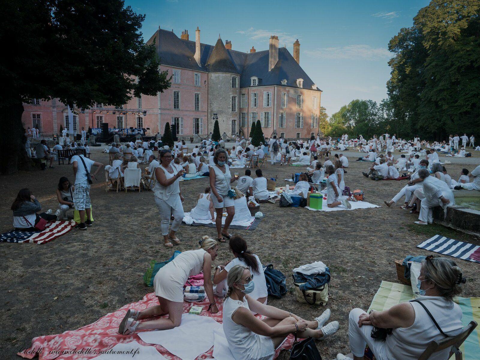 Soirée blanche Château Meung S/Loire - Crédit Clodelle