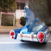 1950'S DC COMICS BATMOBILE BATMAN CORGI 1/43 MINIATURE CARCOLLECTOR - car-collector.net
