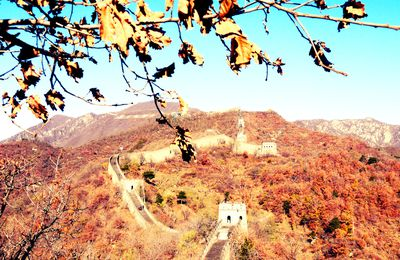 Travelling to The Great Wall - Mutianyu - November 2012