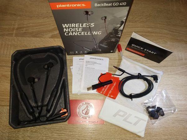 unboxing casque tour de cou à écouteurs intra-auriculaires Bluetooth Plantronics BackBeat GO 410 @ Tests et Bons Plans
