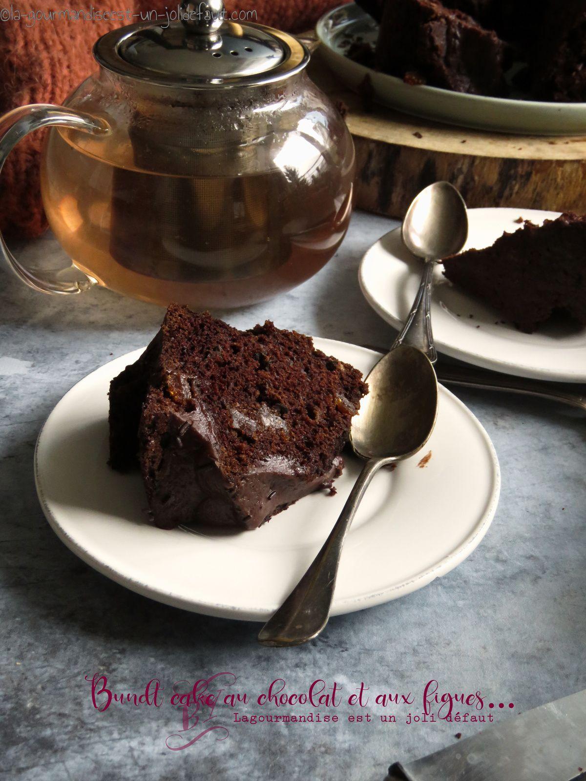 Cake chocolat figue