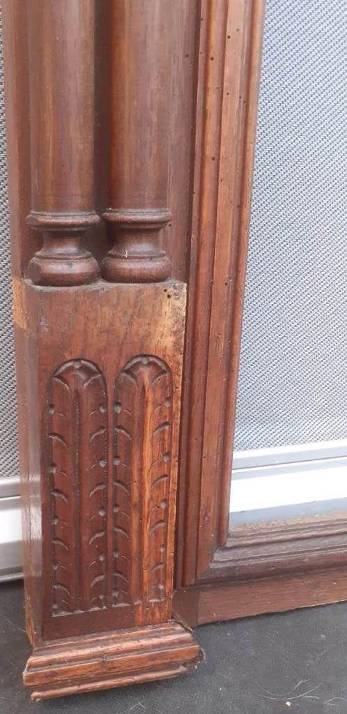 Cadre bois à colonnes néo-classique fin XIXième - VENDU