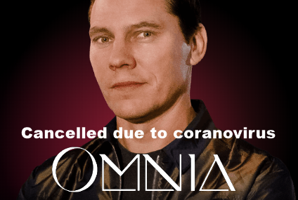 Tiësto date CANCELLED | Omnia | Las Vegas, NV march 14, 2020