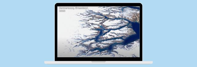 Timelapse : nouvelle fonctionnalité de Google Earth