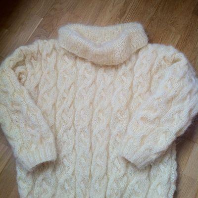 un pull pour l'hiver