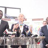 Christine Lagarde, Directrice générale du FMI est arrivée à Dakar