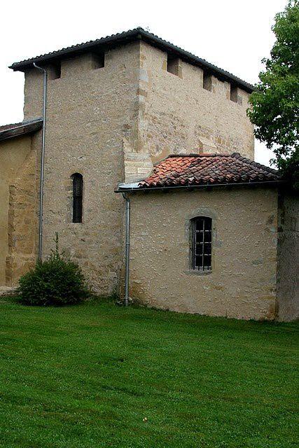 Diaporama église fortifiée de Saint Martin d'Oney