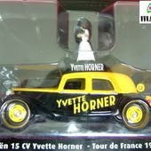 FASCICULE N°56 CITROEN TRACTION 15 CV TOUR DE FRANCE CYCLISTE 1955 YVETTE HORNER - car-collector.net