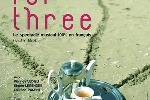 TEA FOR THREE au Théâtre de Nesle !