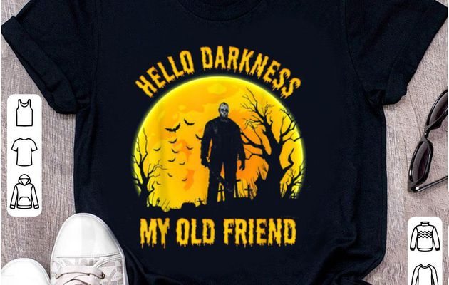 Top Hello Darkness My Old Friend Michael Myers shirt