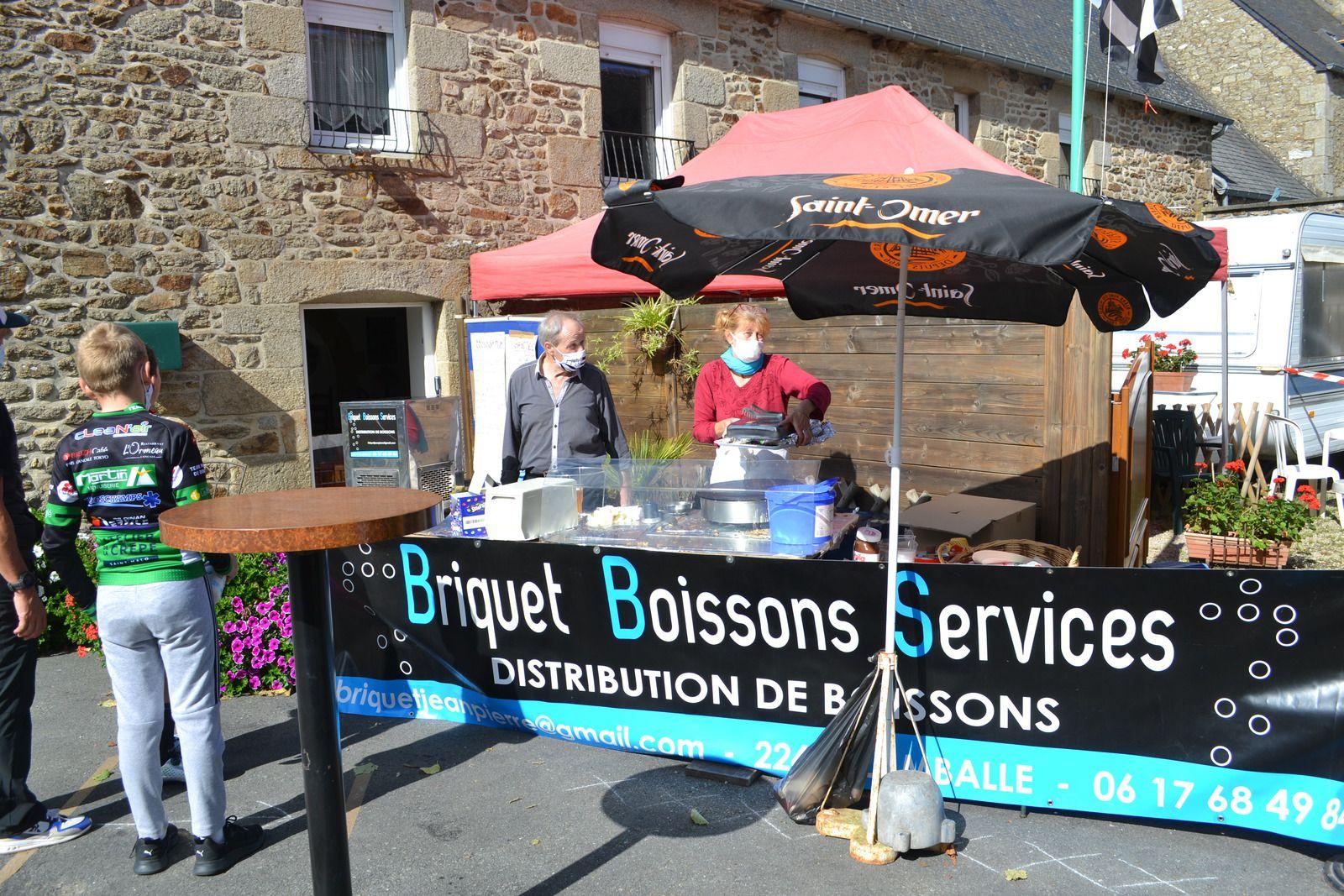 Briquet Boissons Services ; retour d'un stand restauration sur la course!