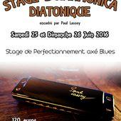 Stage d'harmonica