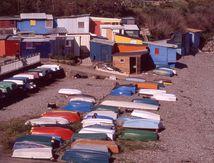 Cabanes de pêcheurs (Brest quartier de la maison blanche)