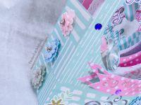 Centre - Table - Décoration - Scan N Cut - CM - SDX - SDX1200 - 30 Mai - Strass - Stickers - Foil Quill - Fleurs - Printemps