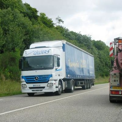 """Mercedes Actros """"Transports Gilliers"""""""