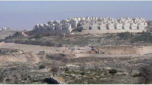 Cisjordanio : novaj judaj instalaĵoj kore de Hebrono