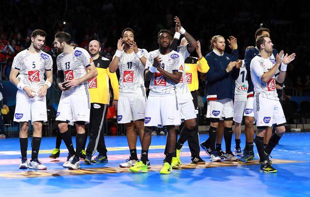 Toujours à fond avec les Equipes de France de Handball